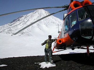 Ski tour in the volcanoes of Kamchatka